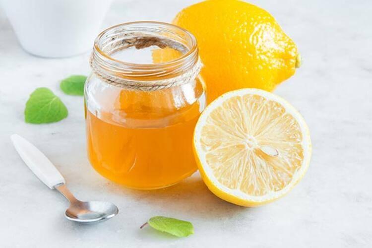 Limon ve Bal Maskesi